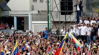 """Juan Guaidó: """"Estamos cada vez mais fortes"""""""
