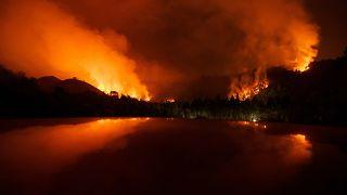 La Spagna brucia anche durante l'inverno