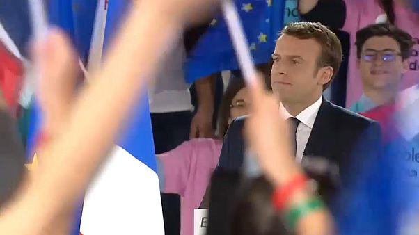 """Macron manifesta-se por um """"renascimento europeu"""""""