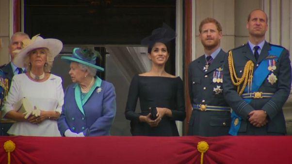 Família real britânica contra a ciberintimidação