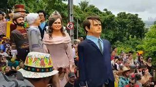 Tüntetések és önfeledtség a riói karneválon