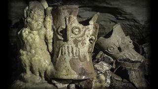 کشف غار «خدای پلنگ» در مکزیک