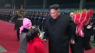 Hazatért Kim Dzsongun