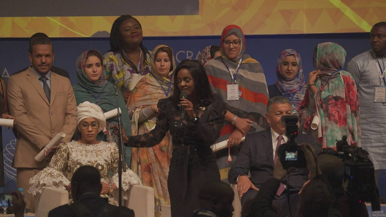 The Crans Montana Forum celebrates African youth