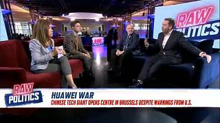 Raw Politics in full: Macron's EU 'renaissance', Huawei battle and Spanish elections