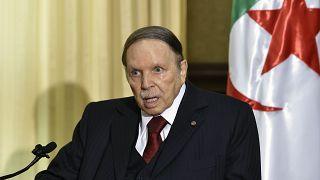 Algerian President Abdelaziz Bouteflika on April 10, 2016.