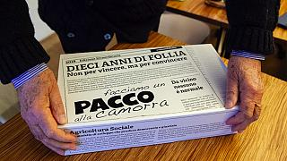 Italian cooperatives fight organised crime with organic food boxes