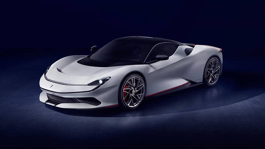 The Pininfarina Battista: world's first electric 'hypercar' unveiled at Geneva Motor Show