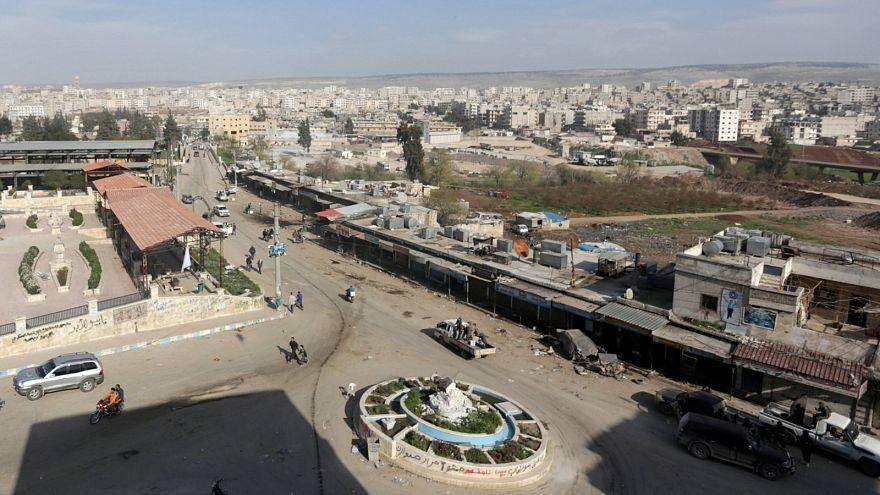 منظر عام لمنطقة عفرين السورية في صورة من أرشيف رويترز
