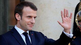 """En direct : Emmanuel Macron inaugure un """"collège"""" européen du renseignement"""