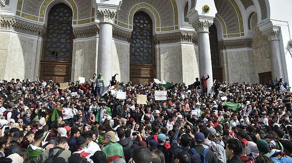 Algerien: Proteste gegen 5. Amtszeit Bouteflikas klingen nicht ab