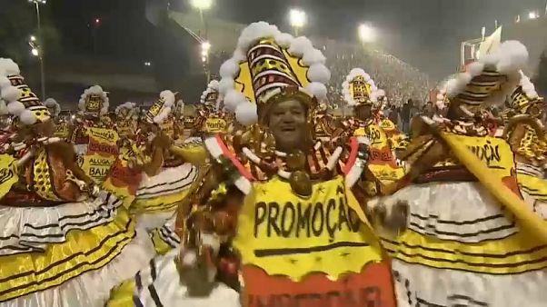 Reivindicación a ritmo de samba en Río de Janeiro