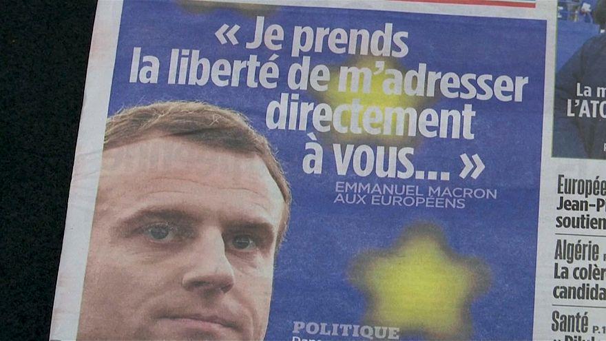 La lettera di Macron piace a Juncker e Tusk ma non incanta Strasburgo