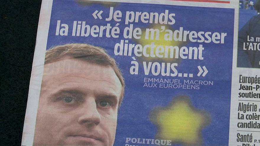 Hat Emmanuel Macron die Europäer überzeugt?