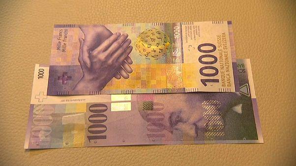 سويسرا تصدر فئة جديدة من الفرنك تعادل ألف دولار