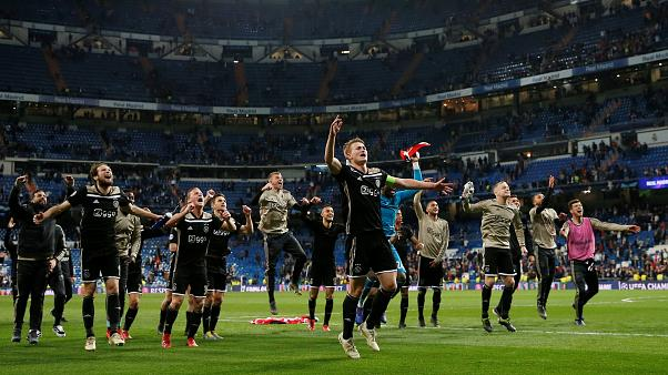 Liga do Campeões: Ajax goleia Real Madrid e está nos quartos de final