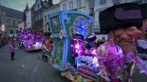 Belgian carnival float depicting Jewish stereotypes condemned as anti-Semitic