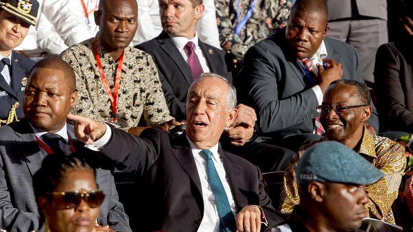 Marcelo Rebelo de Sousa de visita a Angola