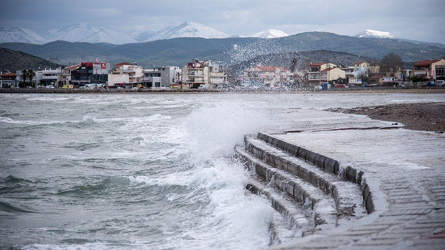 Σε κατάσταση έκτακτης ανάγκης περιοχές της Χαλκίδας