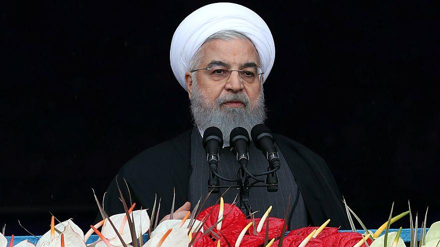 روحاني يتهم أمريكا بالسعي لتغيير النظام الإيراني ويستبعد إمكانية التفاوض معها