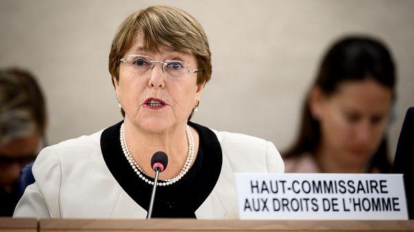 Michelle Bachelet, BM İnsan Hakları Komiseri