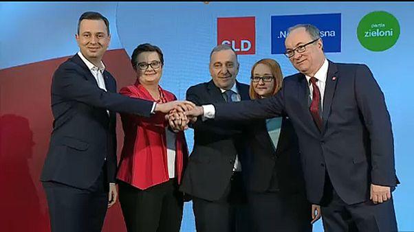Польские сторонники Союза - впереди