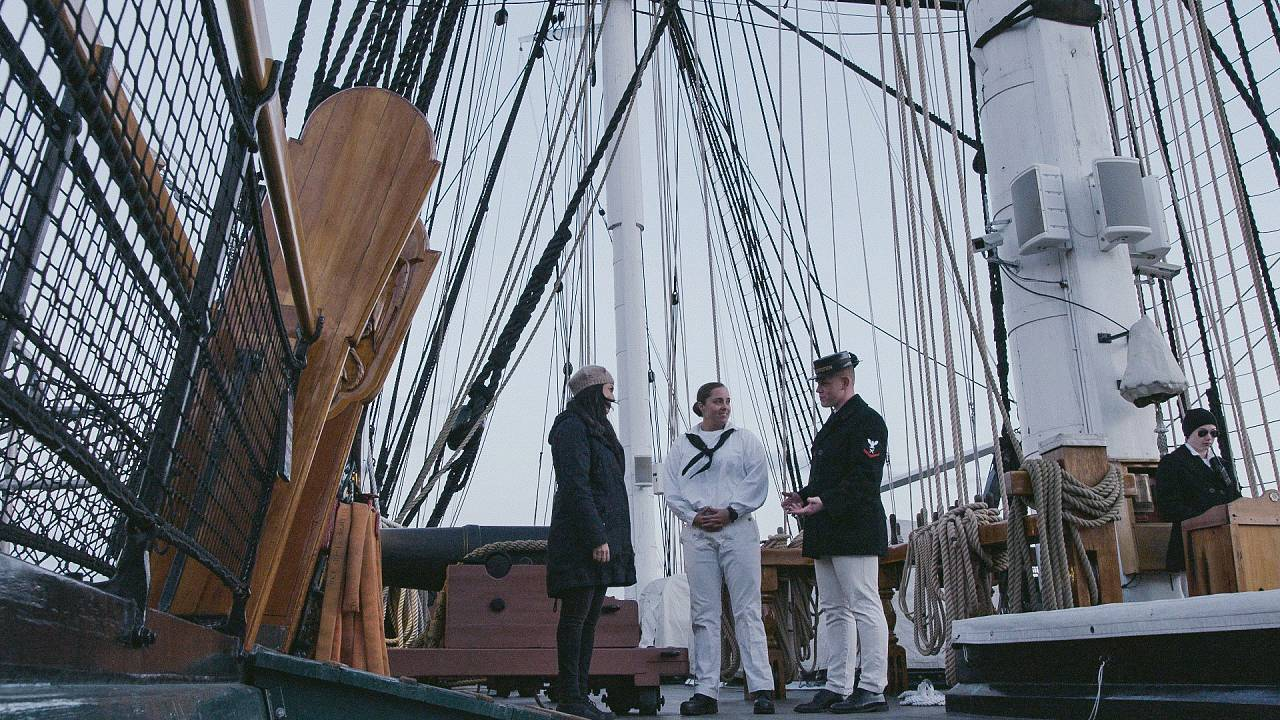 A visit to Boston's most storied ship: USS Constitution