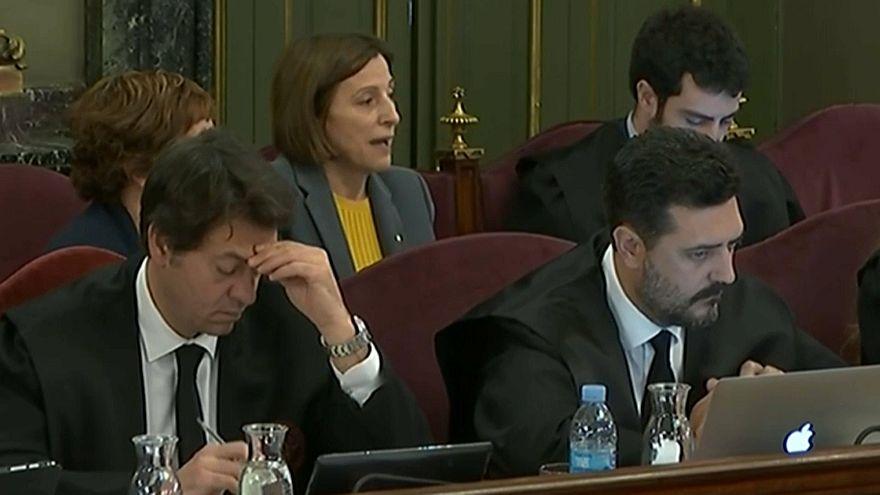 """Juicio contra los líderes del """"procés"""": el relato del asedio a la consejería de Economía"""