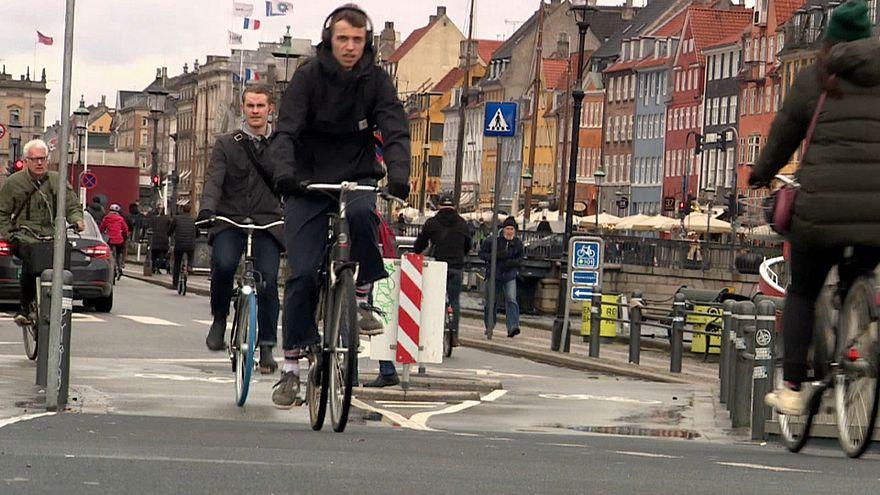Kopenhagens Klima-Ehrgeiz - mit Fahrrad und Elektroauto zum Ziel
