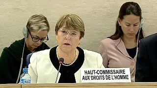 Michelle Bachelet, Haut commissaire aux droits de l'Homme