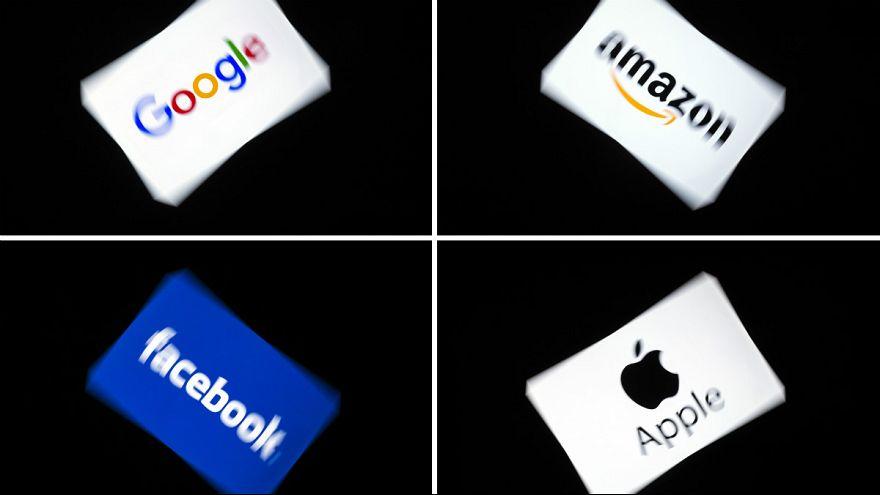 غول های اینترنتی آمازون، گوگل، فیسبوک، اپل