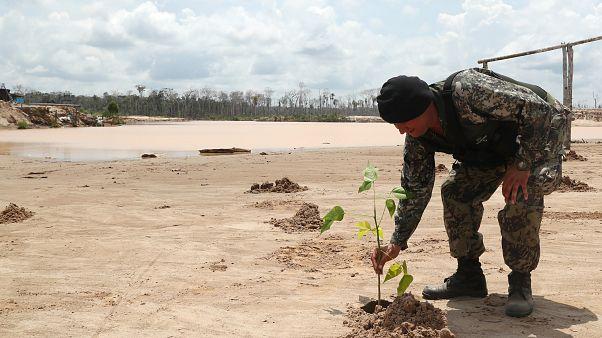 Peru no combate às minas ilegais