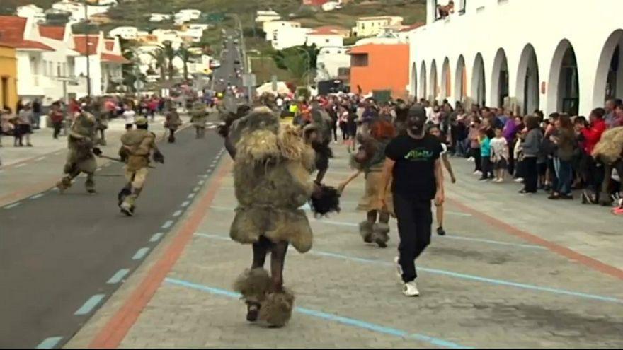 کارناوال سنتی در جزایر قناری اسپانیا