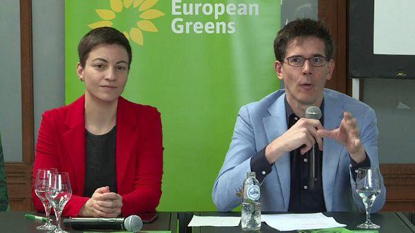 Verdes lançam campanha para as eleições europeias