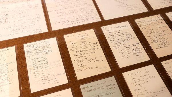 Video: Einstein'ın 140. doğumgünü anısına 110 adet el yazması belge ilk kez yayınlandı