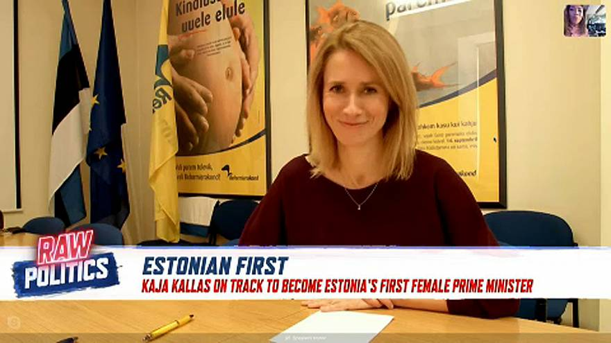 Estonia's new PM? Interview with Kaja Kallas︱Raw Politics