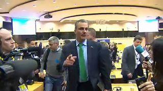 Proteste contro Vox all'europarlamento