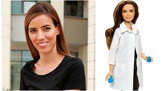 Η επιστήμονας Ελένη Αντωνιάδου έγινε η πρώτη Ελληνίδα κούκλα Barbie