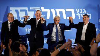 منافس نتنياهو في الانتخابات يدعم الانفصال عن الفلسطينيين