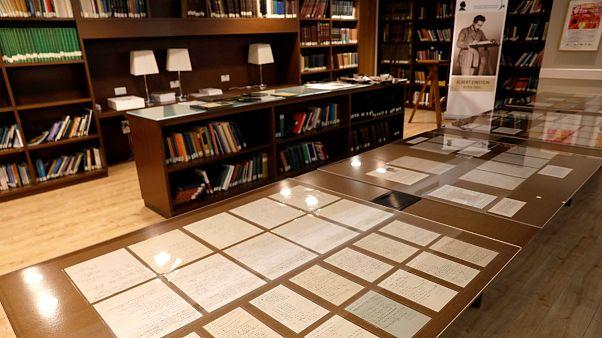 دست نوشتههای اینشتین در بیت المقدس به نمایش گذاشته شد