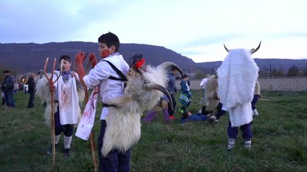 Языческий карнавал в Стране басков