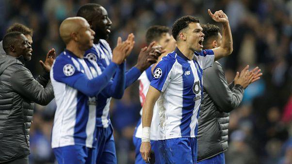 Porto güçlü Roma'yı uzatmalarda bulduğu penaltı golüyle eledi: 3-1