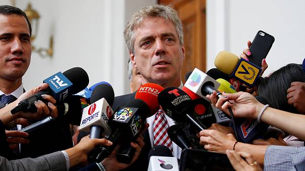 Maduro expulsa embaixador alemão