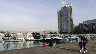 زيتوناي باي في العاصمة اللبنانية بيروت