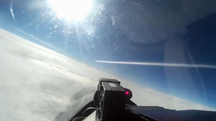 Воздушный перехват над Балтикой