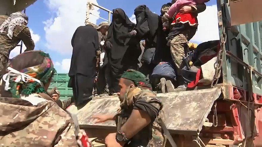 Syrie : des djihadistes et leurs familles ont quitté Baghouz