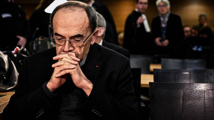 Cardinal Philippe Barbarin was accused of failing to report a priest