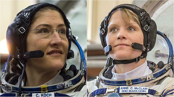 اولین بار در تاریخ؛ راهپیمایی فضایی با تیمی کاملا زنانه