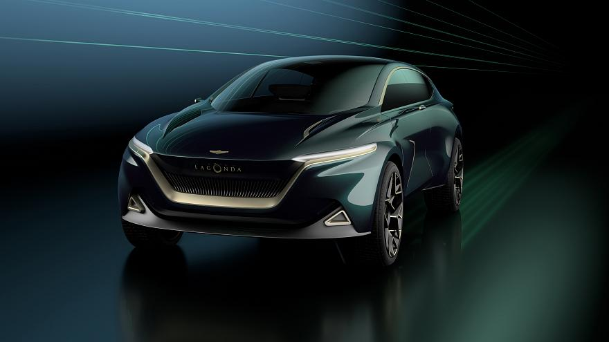 Aston Martin's new Lagonda: electric-powered and... vegan