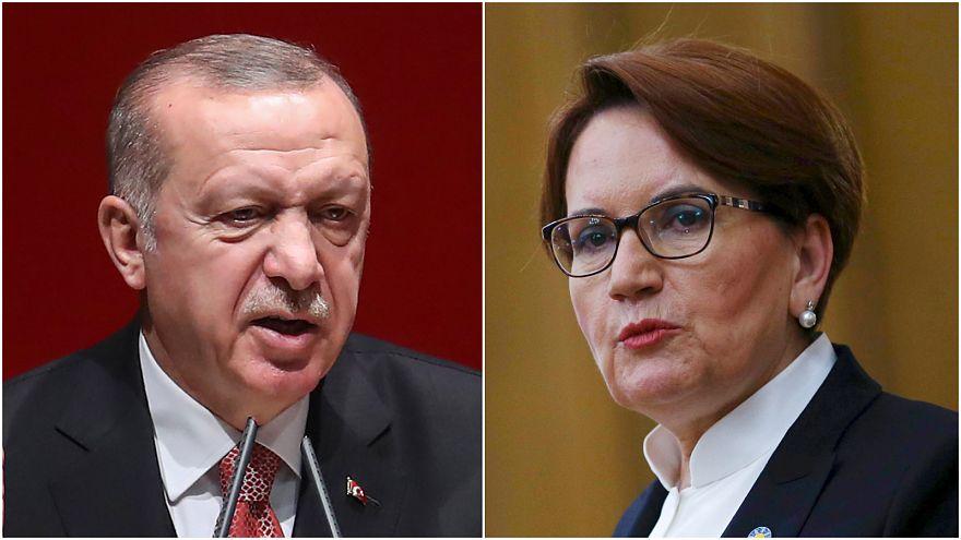 Erdoğan'dan Akşener'e 'cumhurbaşkanına hakaretten' suç duyurusu